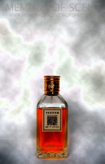Vetiver infused Vermouth