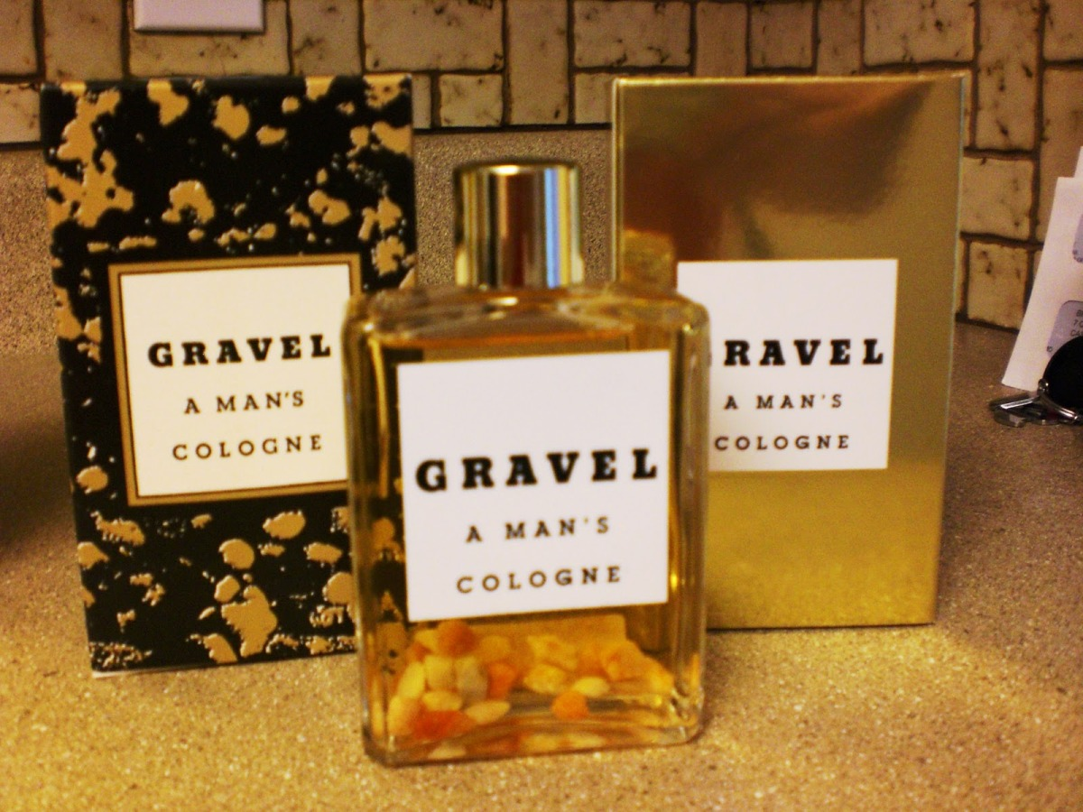 Gravel - A Man's Cologne: this is the essence of discontinuation