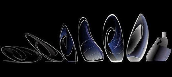 Zaha-Hadid-Designs-Donna-Karan-Perfume-Bottle