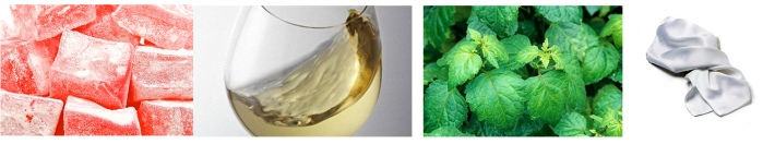 Aromatics in White notes